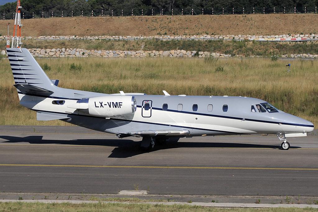 LX-VMF - C56X - Luxaviation