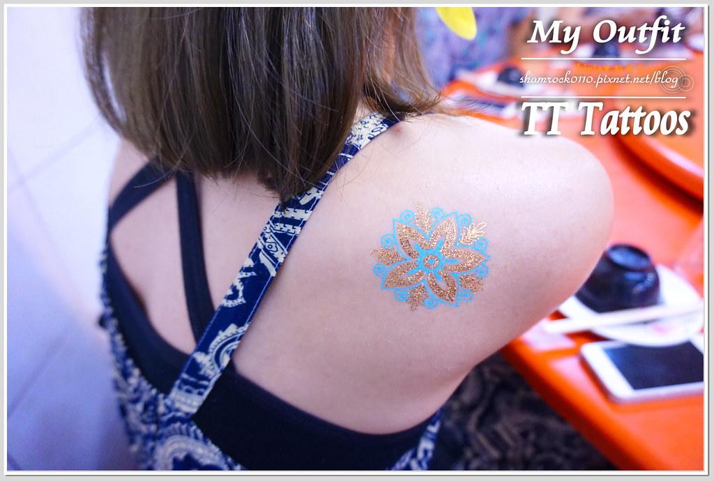 TT Tattoos金屬紋身貼 - 27