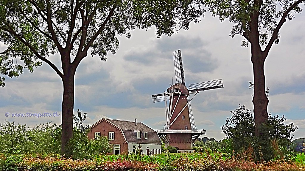 Rijn en Weert Mill, Werkhoven, Netherlands - 2546