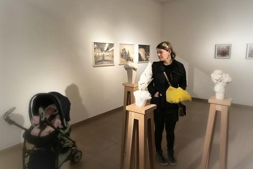 La prima mostra con Adele Nina