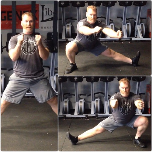 Day 14: Cossack Squat x 30 #Spartan30 #squat  Time to move in the lateral plane!  #spartanup #spartansgx #spartanrace #spartanracing #spartanstrong #spartanworkout #Spartantraining #coachcambio