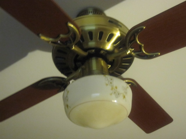 Vintage Ceiling Fan Install In New Home Vintage Ceiling