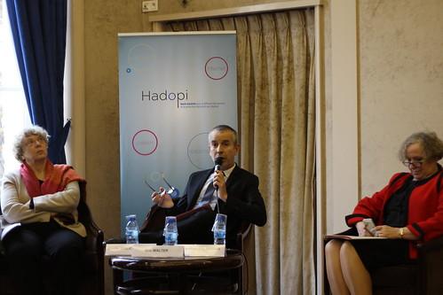 Mireille Imbert-Quaretta, Éric Walter et Marie-Françoise Marais - Rapport d'activité 2014 Hadopi