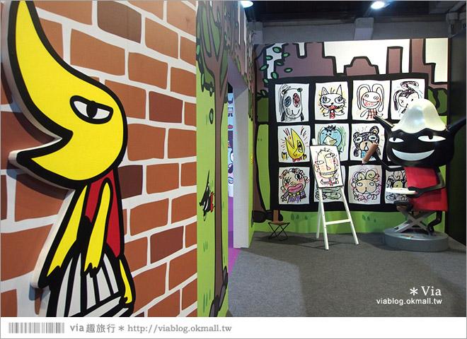 【阿朗基愛旅行】台北華山藝文特區阿朗基展~跟著阿朗基一起環遊世界去!30