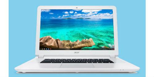 Acer unveils a new Chromebook 15