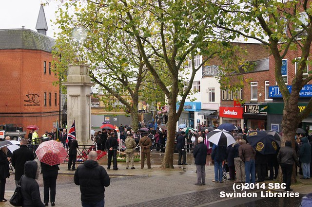 2014: Remembrance Ceremony at the Cenotaph