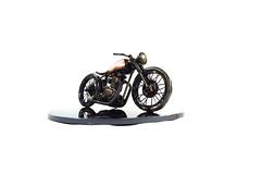 Triumph bobber sculpture
