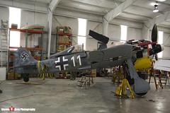 N447FW 550476 - 990002 - Flug Werk FW-190A-8 N - Tillamook Air Museum - Tillamook, Oregon - 131025 - Steven Gray - IMG_8096