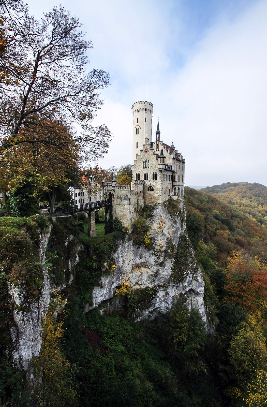 Lichtenstein Castle, Germany: A Real-Life Fantasy Castle.