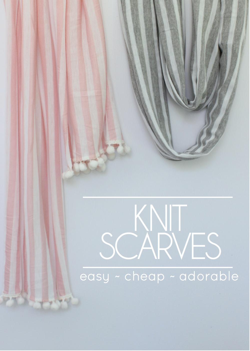 Knit Scarves-001