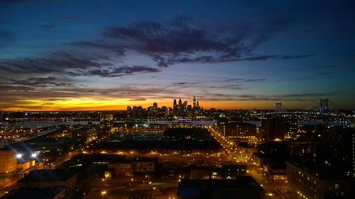 sunset philadelphia nokia sunsets philly camdennj lumia camdencounty lumia1020 windowslumia