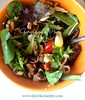 gorganzola - pear- salad-healthy-lunch-options-pear-infused-vinegar