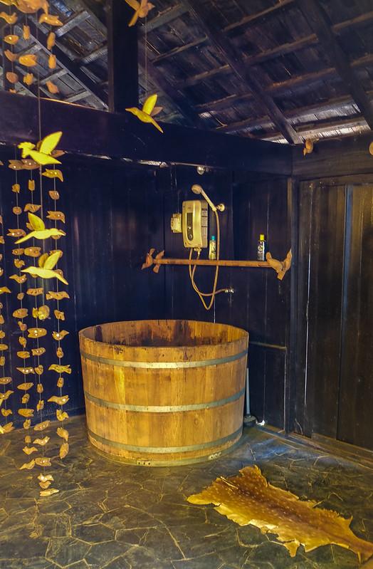Bathroom at Baan Daum/ Black House