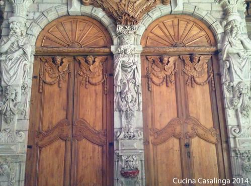 Beziers Kathedrale Tueren