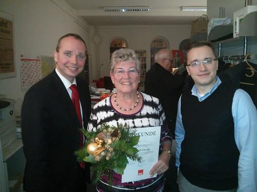 Weihnachtsfeier und Jubilarehrung der SPD Harburg-Süd 2014