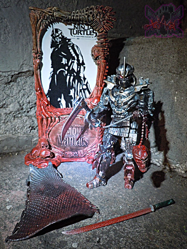 """NINJA TURTLES"" Movie :: SHREDDER  { tOKKustom MOVIE MANIAC } ii (( 2014 ))"