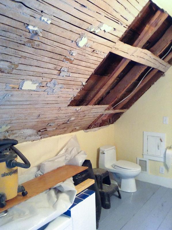 Bathroom - lath
