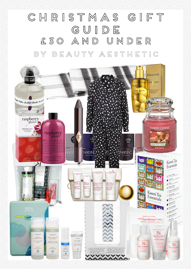 Christmas Gift Guide 2014: £30 and Under