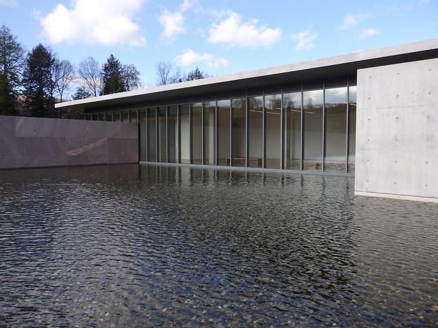 Reflecting pond, The Clark Center