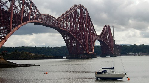 The Forth Bridge. You can still catch a train that crosses this famous bridge