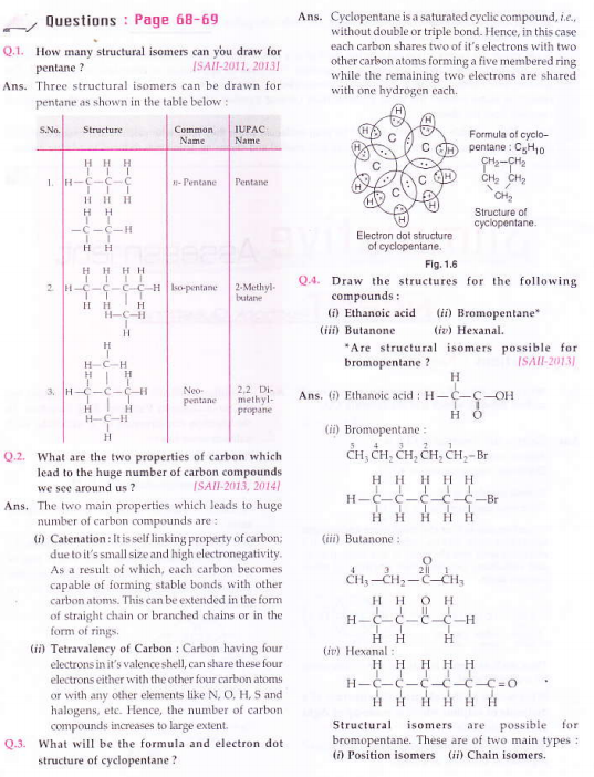 NCERT Solutions for Class 10th Science Chapter 4 Carbon and its compounds_2