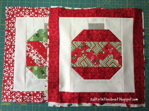 Holiday Placemats WIP