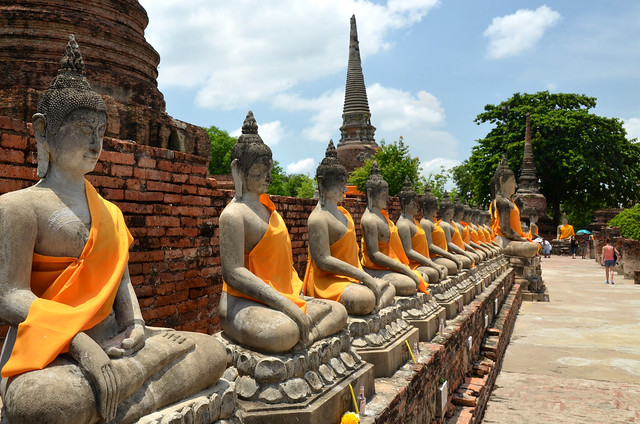 Ayutthaya, la antigua capital del Siam