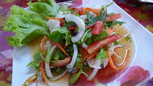 Koh samui Spicy squid Salad