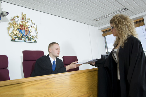 Mock courtrooms
