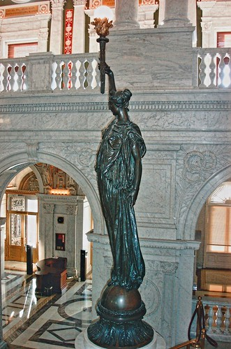 usa architecture america us dc washington interior library places historic lobby congress national historical jefferson register attraction nrhp onasill