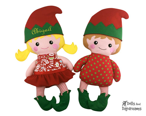 Meet my Adorable ITH Elf Embroidery Machine Pattern! I simply love ...