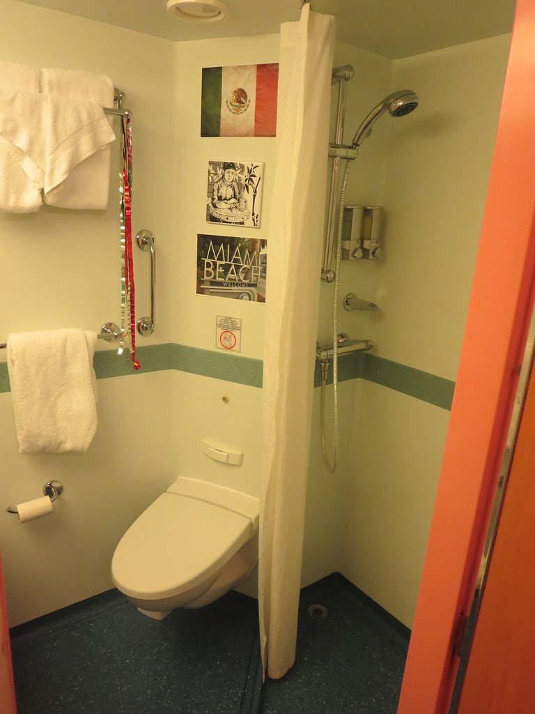 Carnival Glory Cruise Ship Interior Stateroom Bathroom Dec Flickr
