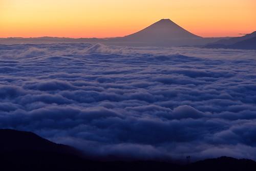 fujisan 富士山 雲海