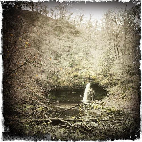 Waterfall near Pontneddfechan