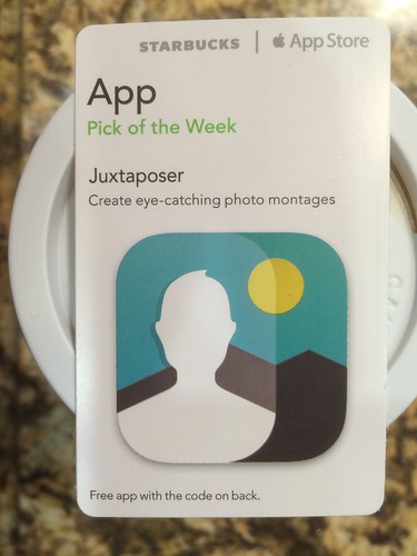 Starbucks iTunes Pick of the Week - Juxtaposer