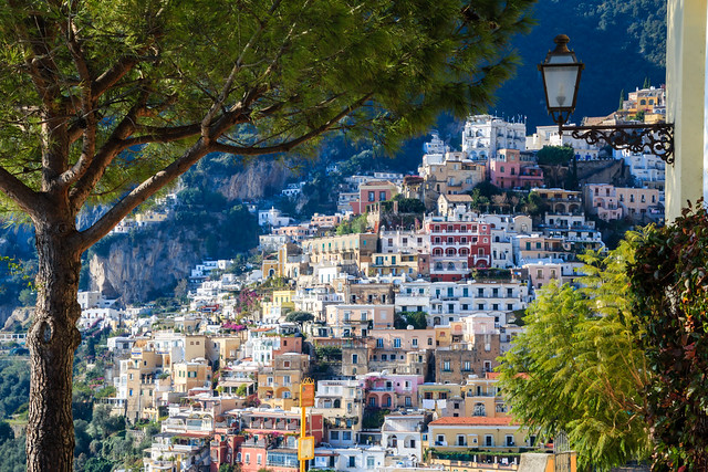 Positano, gem on the Amalfi coast