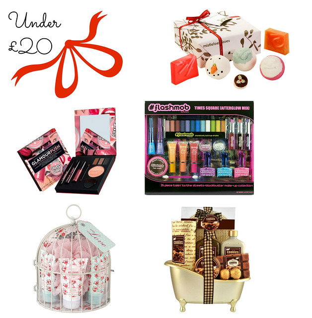Christmas Gift Guide Beauty Under £20