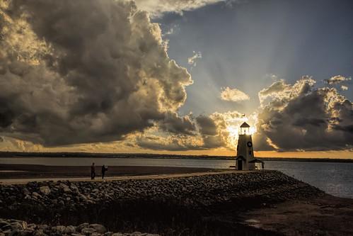 sunset lake storm oklahoma water weather clouds oklahomacity lakehefner tamron16300mmf3563diiivcpzdb016