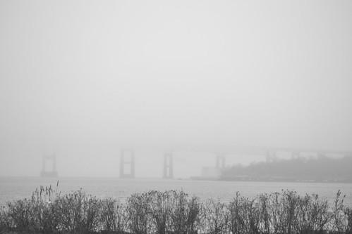 Ghost Bridge by Carly  Sabatino, via I {heart} Rhody