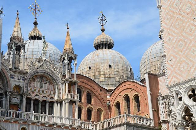 detail of Basilica di San Marco, Venice