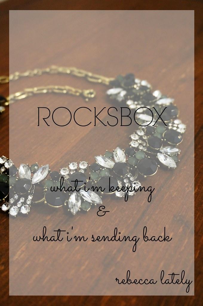 Rocksbox January 1