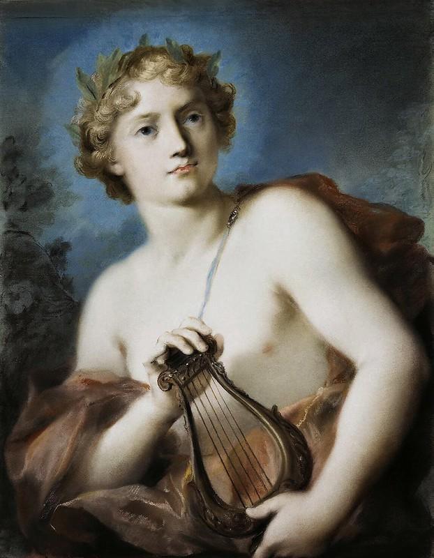 Rosalba Carriera - Apollo (1743)