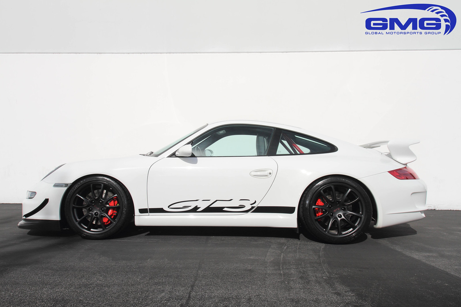 2007 white porsche 997 1 gt3 w red gmg rsr roll bar and cup car splitter rennlist porsche. Black Bedroom Furniture Sets. Home Design Ideas