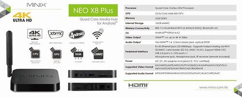 Minix Neo X-8 Plus