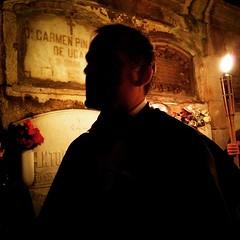 Noche en el Cementerio de San Amaro, con Don Fiz de Cotovelo
