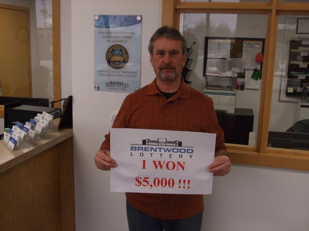 Winner of $5,000 Cash