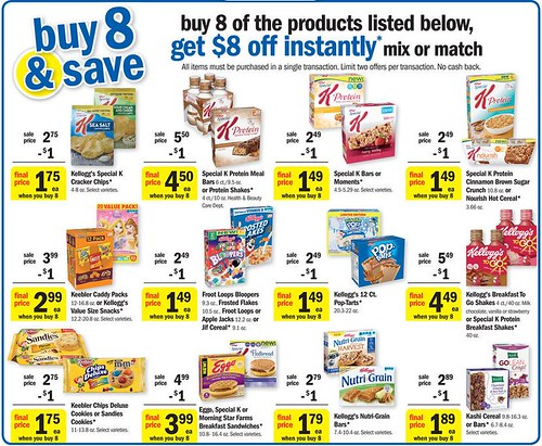 photo regarding Gluten Free Coupons Printable called Unique K Gluten No cost Cereal 0.74 at Meijer with Printable