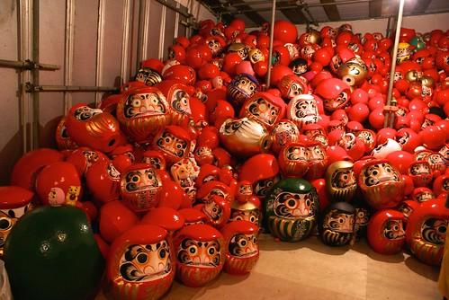 少林山七草大祭だるま市2015
