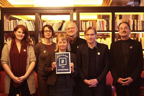 Lancement de la campagne #MyNextRead par la Fédération européenne et internationale des libraires
