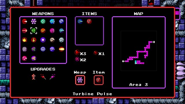 Axiom Verge on PS4 and PS Vita